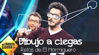 Antonio Pagudo juega a el dibujo a ciegas  - El Hormiguero 3.0