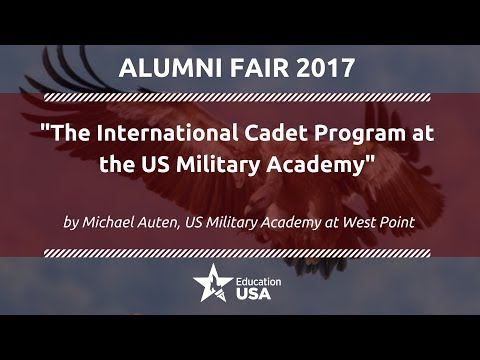 """The International Cadet Program""   by Michael Auten, US Military Academy at West Point"