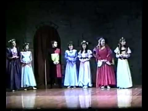 ONCE UPON A MATTRESS - Musical Performance #1 ( 1994 Chatham High School, NJ )