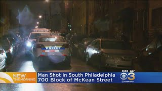 Police Searching For Suspect In South Philadelphia Shooting