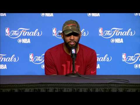 Kyrie Irving FULL Interview Before Game 4 | Media Day Availability