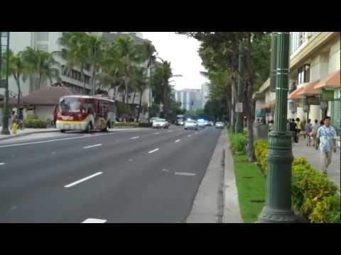 Siren Police Waikiki Beach Honolulu Hawaii