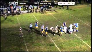 willows lb 52 jacob candelaria fumble recovery to seal the championship