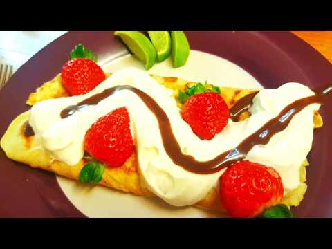 How to make Simple & easy pancake- English Style.