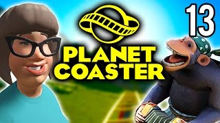 Planet Coaster | The Great Tree! (Lets Play Planet Coaster / Gameplay Part 13)