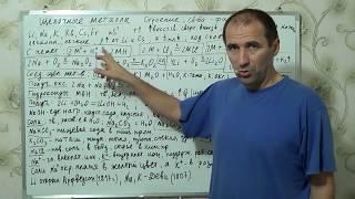 Уроки по химии §14, 9 кл. Щелочные металлы