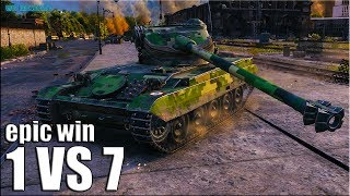 ЖЁЛТЫЙ СПЕЦНАЗ против СЕМЕРЫХ 🌟 World of Tanks AMX 13 105