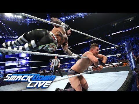 Rey Mysterio vs. The Miz: SmackDown LIVE, Oct. 23, 2018
