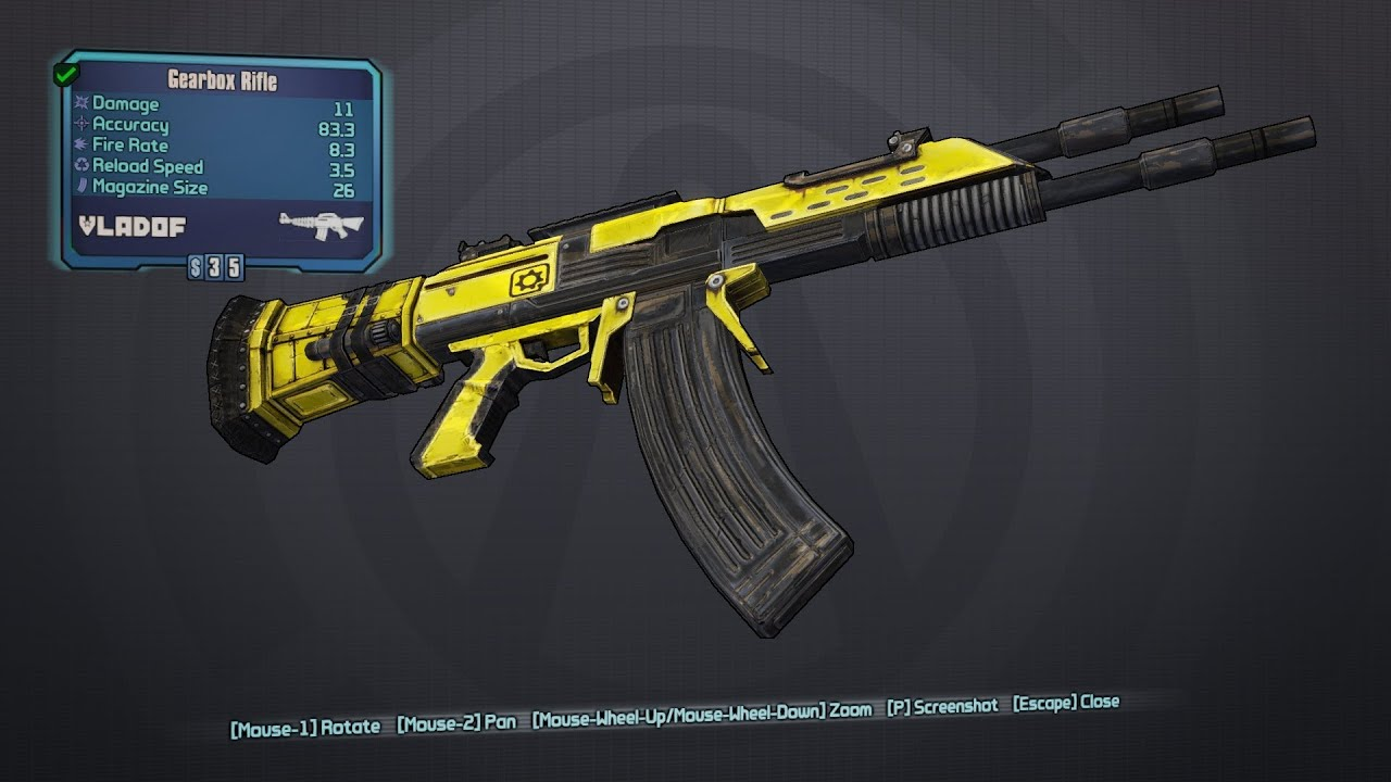Borderlands 2 : PRE-ORDER BONUSES - GOLD GUNS - RELIC ... Borderlands 2 Keys
