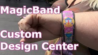 MAGICBAND on Demand CUSTOM DESIGN & Personalize Center - Magic Kingdom D-Tech NEW