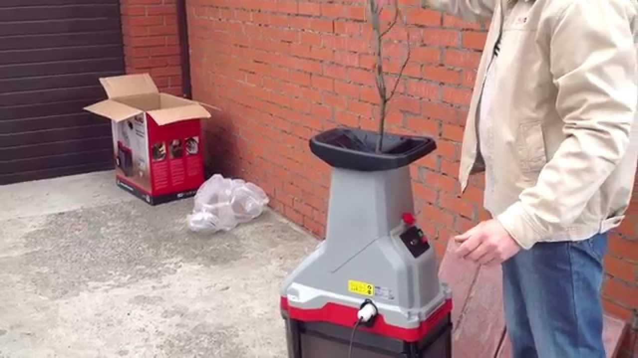 Испытал садовый измельчитель Bosch AXT RAPID 2000 Вт - хороший .