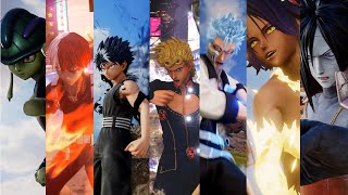 Jump Force - All DLC Characters Ultimate Attacks (Season 1 & 2) (4k 60fps)