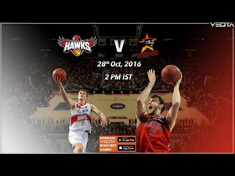NBL LIVE | Illawarra Hawks Vs Perth Wildcats - National Basketball League