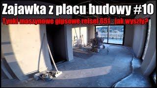 Zajawka #10 Jak wyszły tynki na parterze? Kreisel 651, jak z dokładnością? domza150tysiecy.pl