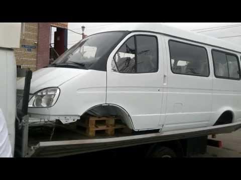 Кузов ГАЗ 3221-32 ГАЗель 13-ти местный автолайн в сборе под дв. ЗМЗ 402
