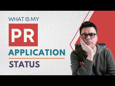 What Is The Status Of My PR Application?