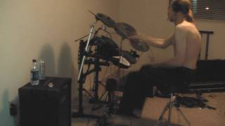 Decrystallizing Reason played on drums by DeMoN