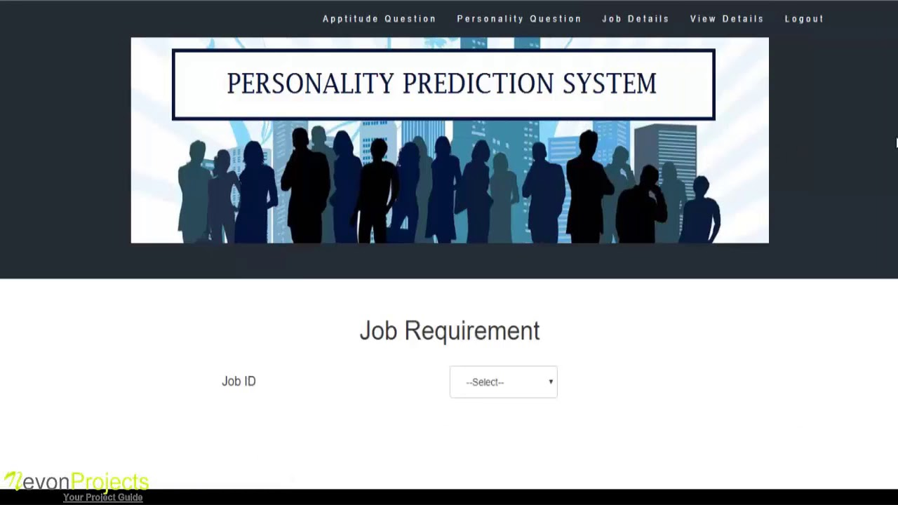 personality prediction system through cv analysis