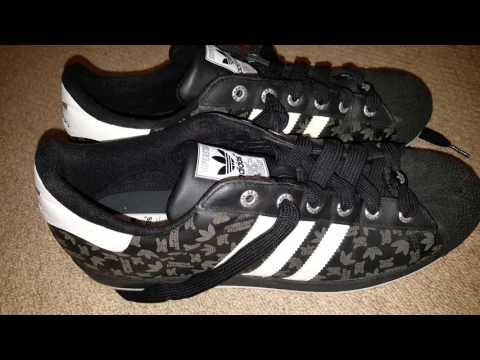 Días laborables calina Incentivo  Adidas Superstar 35th Anniversary Etched Black - YouTube