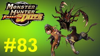Monster Hunter Freedom Unite - Online Quests -- Part 83: Steppin