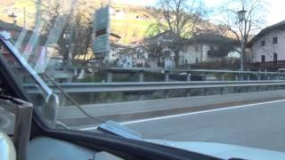 Barbian Barbiano Kollmann Colma Klausen Chiusa SS 12 Brenner Südtirol Italy Italien 9.4.2015