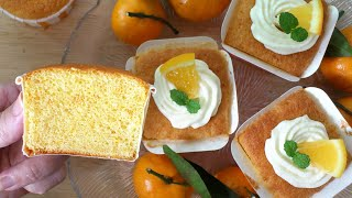 Orange Cupcakes (香橙海棉杯子蛋糕)