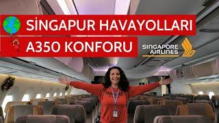 Singapur Havayolları'nın A350 Uçağı İstanbul'dan İlk Kez Havalandı!