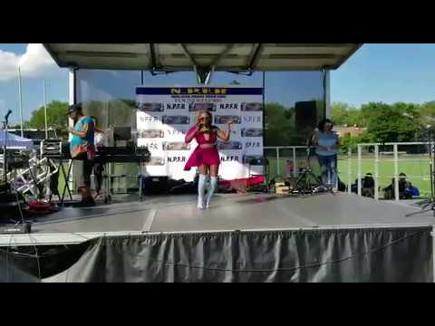 Jamilka -Insensible A ti (version salsa) at the Panamanian Festival 2017