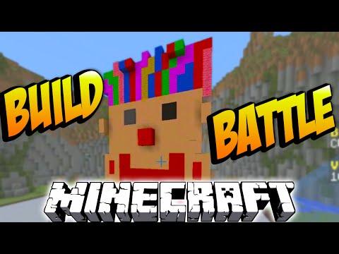 Minecraft BUILD BATTLE #3 with Vikkstar, Preston & Brayden (Minecraft Building Challenge Mini Game)