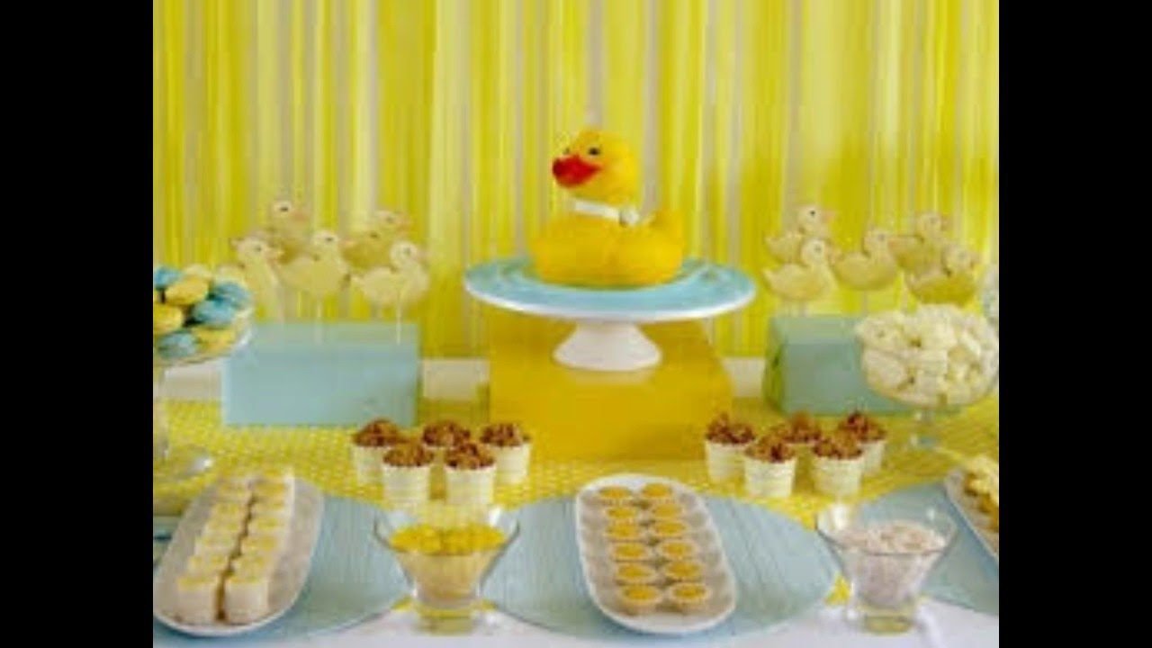 baby shower de patitos mas de ideas de decoracion preciosas youtube