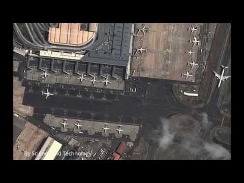 Airports from Google earth