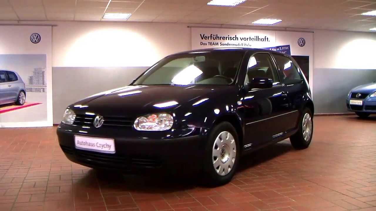 Volkswagen Golf IV 1 4 Ocean 2003 Perlblau 3B169411 www autohaus biz