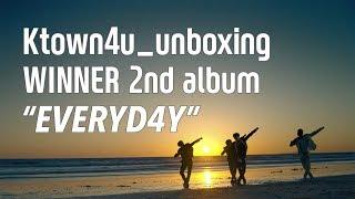 [Ktown4u_unboxing] WINNER - 2nd album [EVERYD4Y] 위너