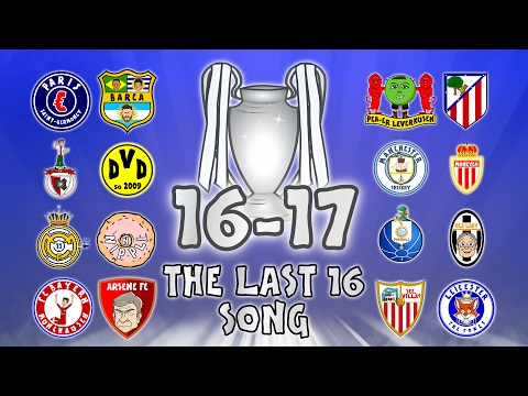🏆THE LAST 16🏆 Champions League Song - 16/17 Intro Parody Theme!