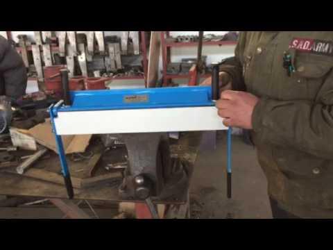 165148 165148 KATSU Sheet Metal Manual Folding Machine 450mm Hand Brake Folder