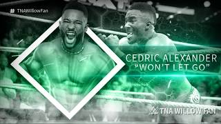 wwe cedric alexander 1st new theme song wont let go 20162017 ᴴᴰ