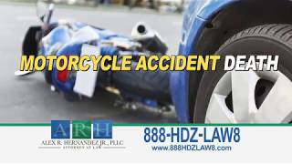 Victoria Texas Motorcycle Accident Death and Injury Attorney Alex R  Herndandez Jr. 3615753101