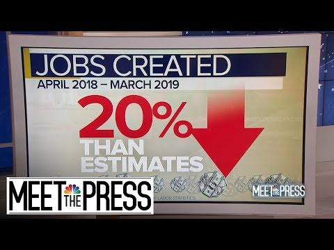 Half-Million Fewer Jobs: Revisions Hit Trump Economy | Meet The Press | NBC News