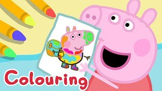 Peppa Pig App | World of Peppa Pig - Colouring George With Peppa! | Game for Kids thumbnail