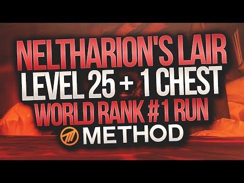 LVL 25+1 WORLD 1st MYTHIC+ Neltharion's Lair - Method - Gingi Hunter POV