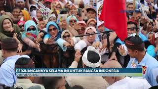Kampanye di Bali, Prabowo Tegur Pendukungnya yang Menjelekkan Jokowi