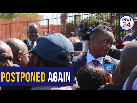 WATCH: Duduzane Zuma case postponed, BLF show up in support