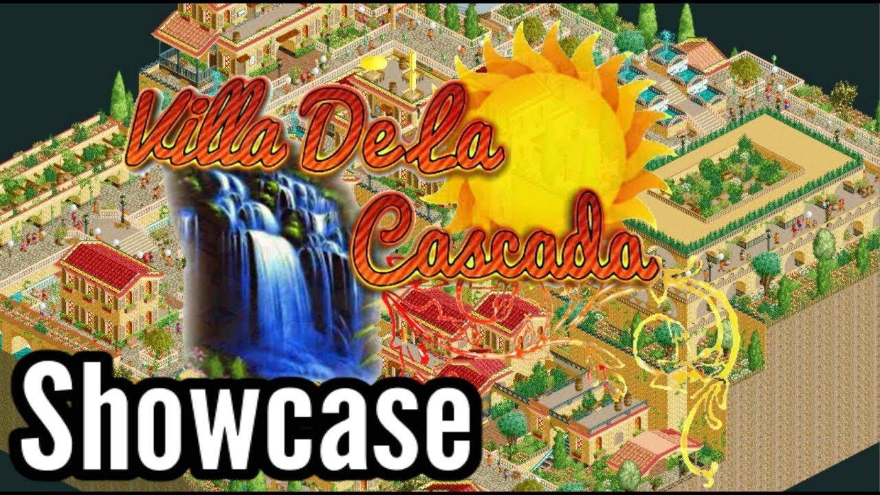 🎢Open RCT2 - Villa De La Cascada - [Showcase]