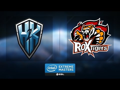 LoL - H2k-Gaming vs. ROX Tigers - Group A Winners Game 1&2 - IEM Katowice 2017