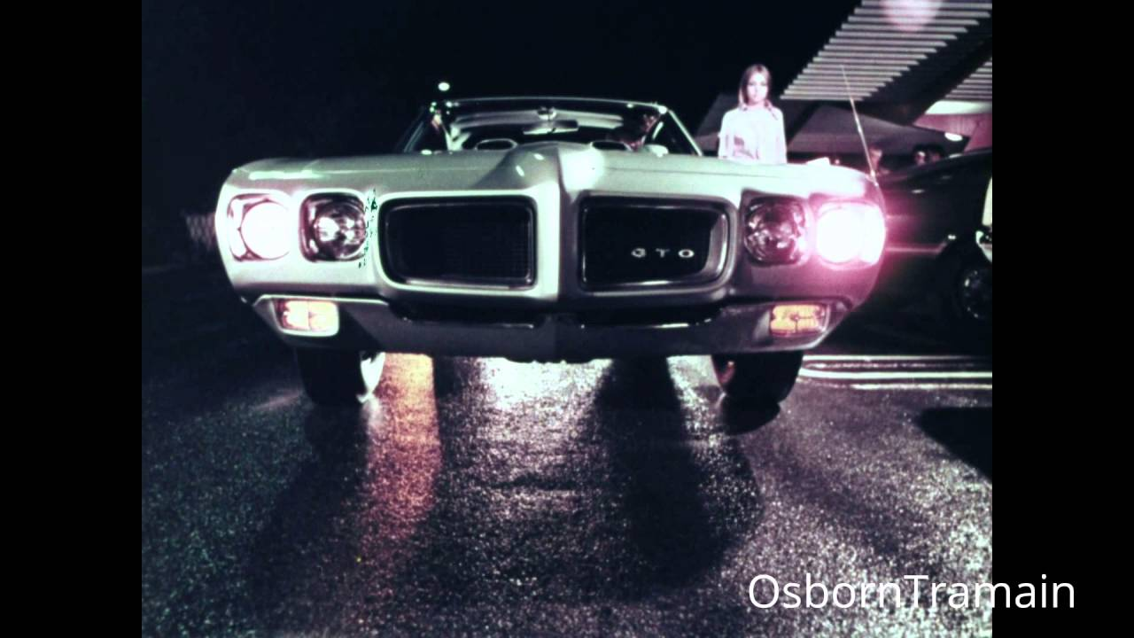 "1970 Pontiac GTO "" The Humbler"" commercial."