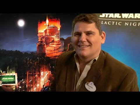 INTERVIEW: Star Tours, Galaxy's Edge, Galactic Nights with Disney Show Director J. Michael Roddy
