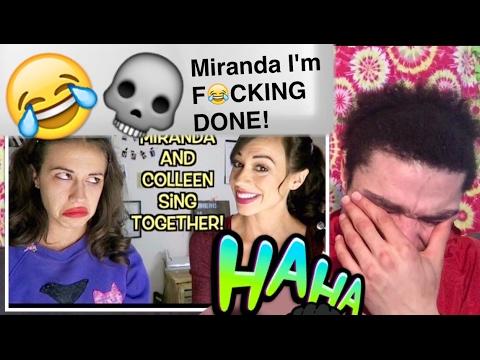 "MIRANDA SINGS & COLLEEN ""Wildest Dreams"" REACTION !!"
