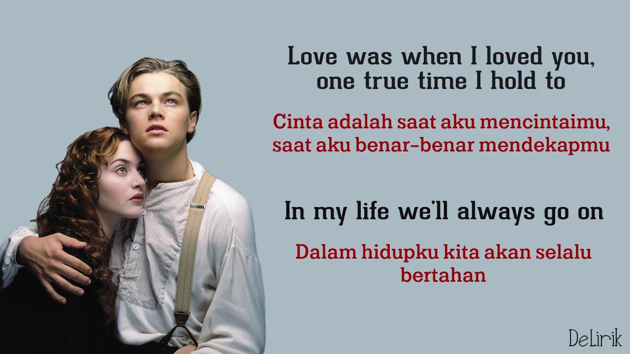 Download My Heart Will Go On - Celine Dion [Ost Titanic] (Lyrics video dan terjemahan)