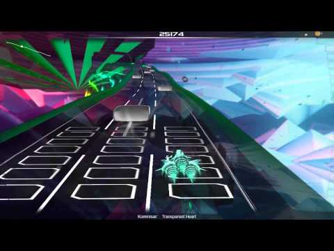 Audiosurf: Kommisar - Transparent Heart