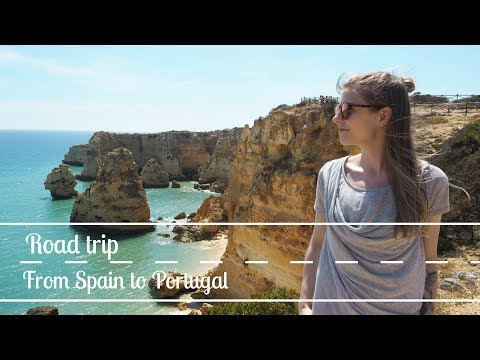 Driving from Spain to Portugal & Lagos Half Marathon // Annika Nen Travel Vlog